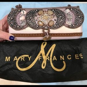 Mary Frances beaded embellished clutch